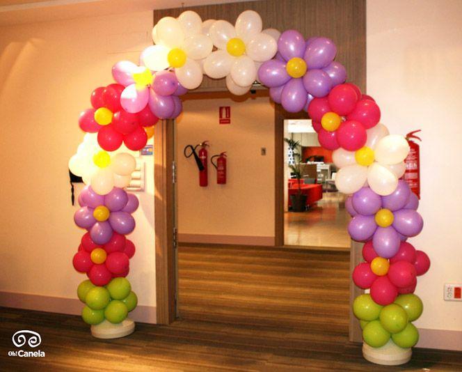 Oh Canela - Comuniones - Entrada globos