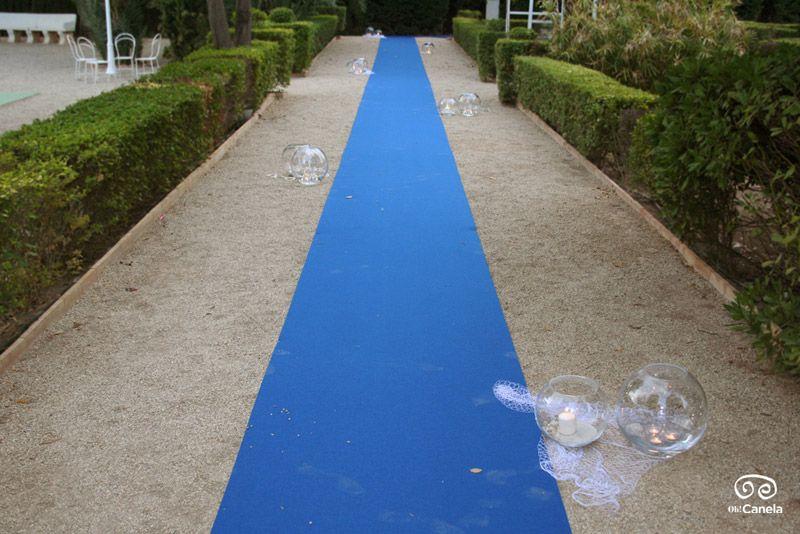OhCanela-boda-marinera-alfombra