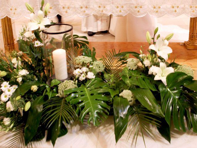 Conjunto floral en altar - Oh Canela