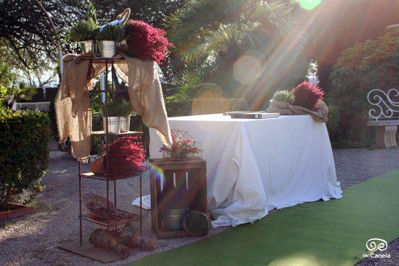 Boda civil – Altar – Grana