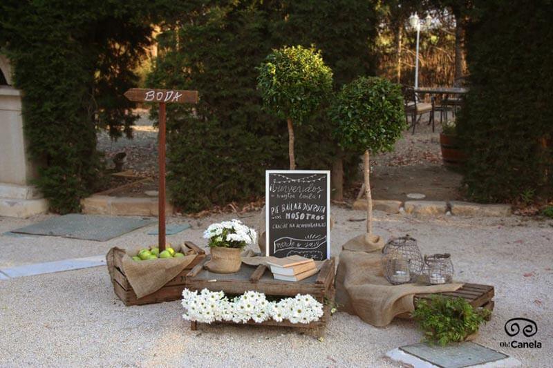 Por allí boda - bienvenida