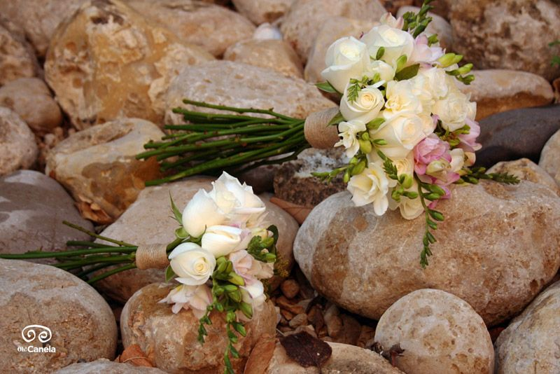 Bouquet de novia y dama de honor - Oh Canela