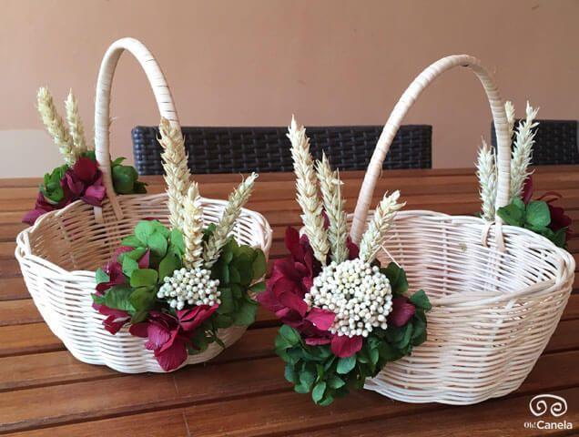 Cestos para flores y regalos