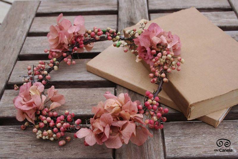 Coronita romántica damas de honor - Oh! Canela
