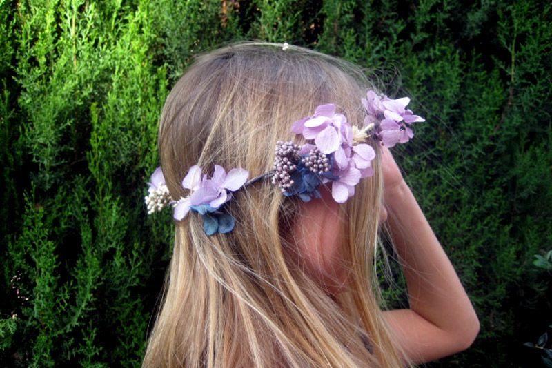 Coronita violeta - damas - oh! Canela