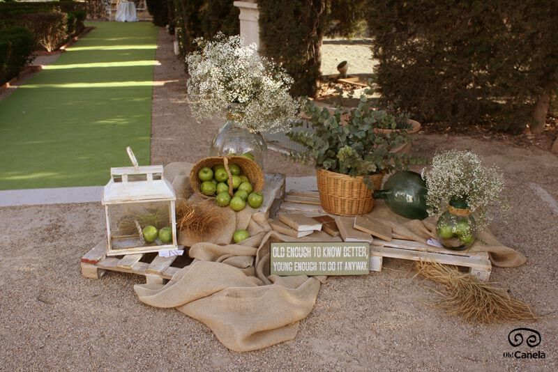 Entrada jardines - oh Canela