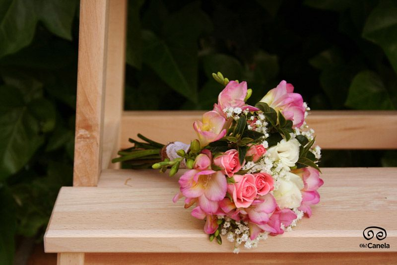 Ramo en rosa - Oh Canela