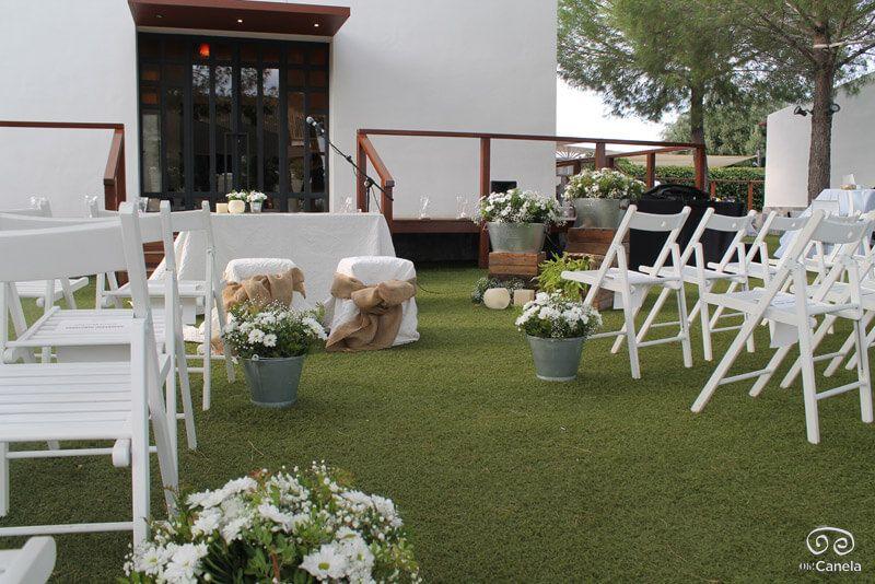 Nuestra galer a de bodas civiles en entornos naturales - Decoracion bodas civiles ...